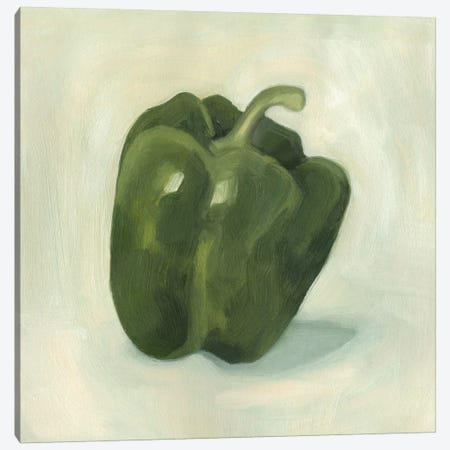 Pepper Study I Canvas Print #EMS74} by Emma Scarvey Art Print