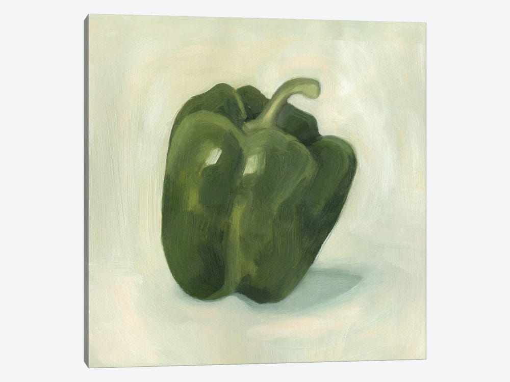 Pepper Study I by Emma Scarvey 1-piece Canvas Art Print
