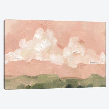 Pink Haze Sunset I 3-Piece Canvas #EMS76} by Emma Scarvey Canvas Art Print