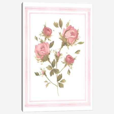 Rose Pattern II Canvas Print #EMS79} by Emma Scarvey Canvas Artwork