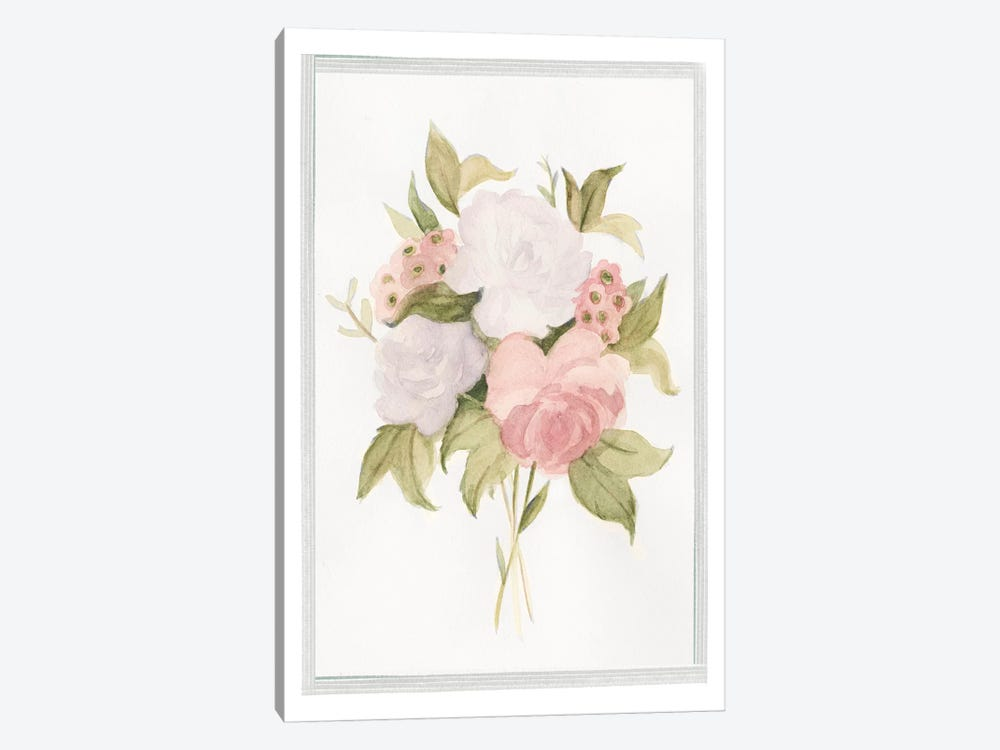 Soft Bouquet I 1-piece Canvas Art