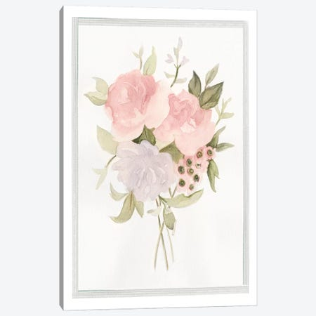 Soft Bouquet II Canvas Print #EMS81} by Emma Scarvey Art Print