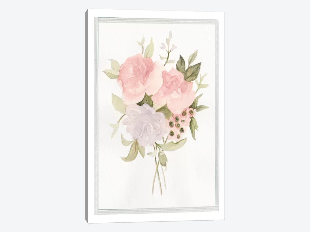 Soft Bouquet II by Emma Scarvey 1-piece Canvas Art Print
