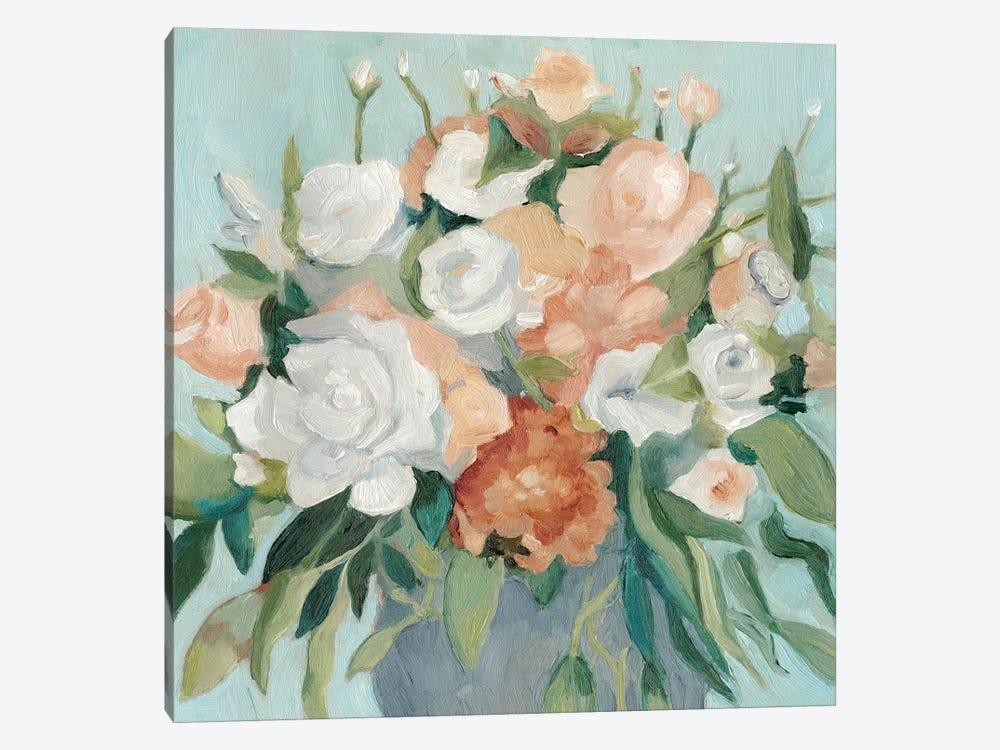 Soft Pastel Bouquet I by Emma Scarvey 1-piece Canvas Wall Art