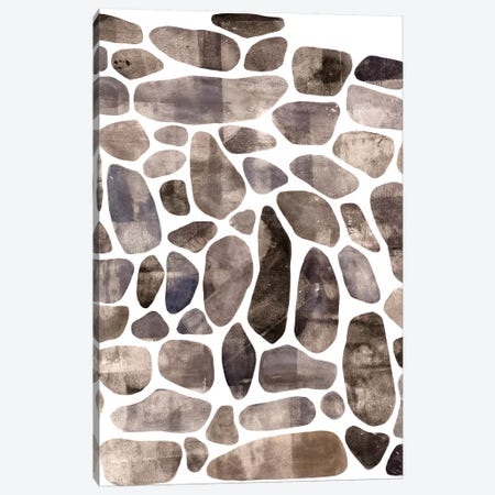 Stepping Stones I Canvas Print #EMS84} by Emma Scarvey Canvas Wall Art