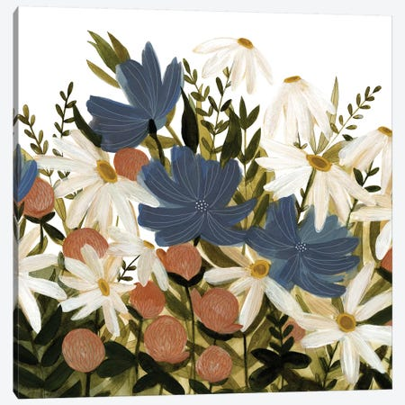 Wildflower Garden II Canvas Print #EMS93} by Emma Scarvey Canvas Wall Art