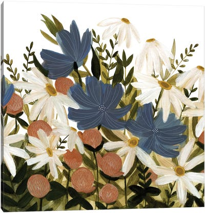 Wildflower Garden II Canvas Art Print
