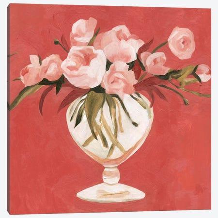Bright Blooms II Canvas Print #EMS95} by Emma Scarvey Canvas Art Print