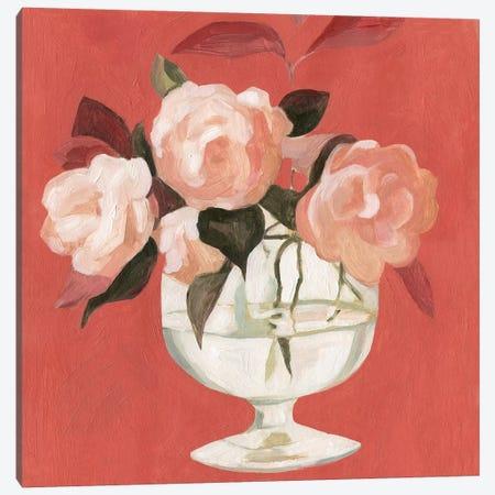 Bright Blooms III Canvas Print #EMS96} by Emma Scarvey Art Print