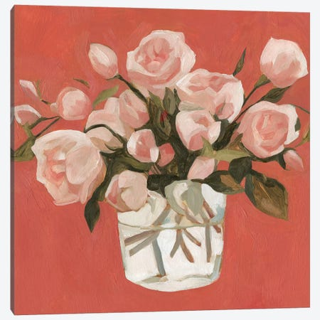 Bright Blooms IV 3-Piece Canvas #EMS97} by Emma Scarvey Art Print