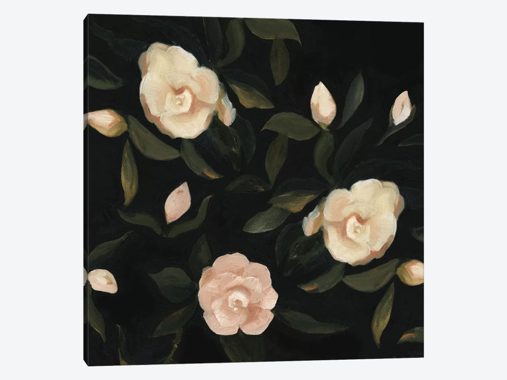 Evening Gardenias I by Emma Scarvey 1-piece Canvas Wall Art