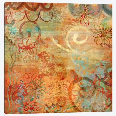 Happy Days I Canvas Print #EMY1} by Emily Dunn Canvas Wall Art