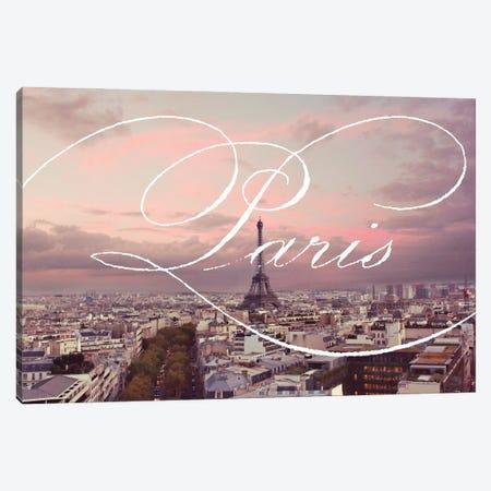 Paris Views Canvas Print #ENA102} by Emily Navas Canvas Print