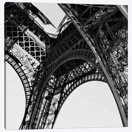 Eiffel Views Square II Canvas Print #ENA10} by Emily Navas Canvas Art