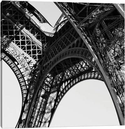 Eiffel Views Square II Canvas Art Print