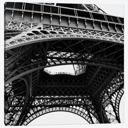 Eiffel Views Square III Canvas Print #ENA11} by Emily Navas Canvas Art
