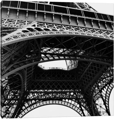 Eiffel Views Square III Canvas Art Print
