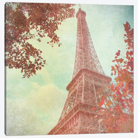 April in Paris I Canvas Print #ENA1} by Emily Navas Canvas Artwork