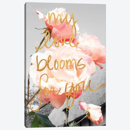 Love Blooms I Canvas Print #ENA22} by Emily Navas Canvas Art Print