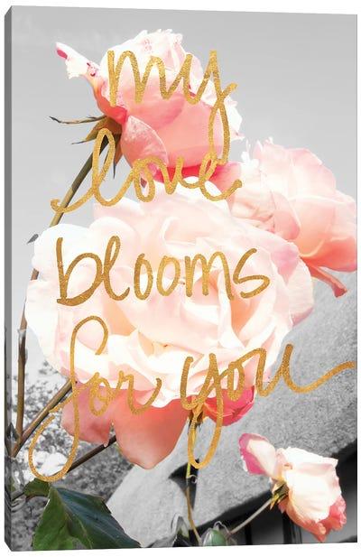 Love Blooms I Canvas Art Print
