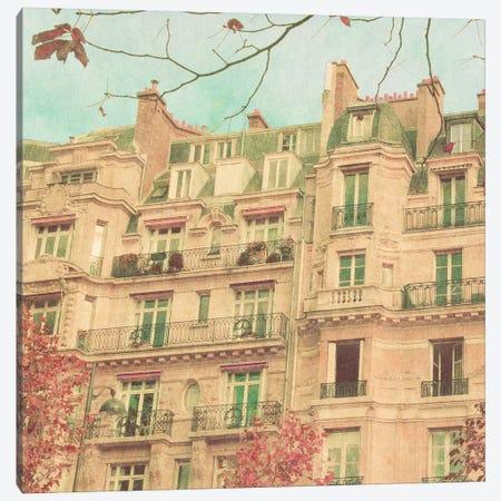 April in Paris II Canvas Print #ENA2} by Emily Navas Canvas Art