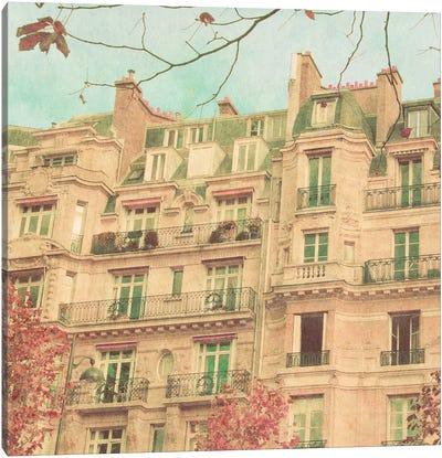 April in Paris II Canvas Art Print