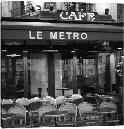 Paris Scene II Canvas Art Print