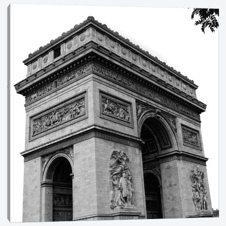Paris Views I Canvas Print #ENA34} by Emily Navas Canvas Print