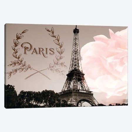 Vintage Paris Canvas Print #ENA50} by Emily Navas Canvas Art