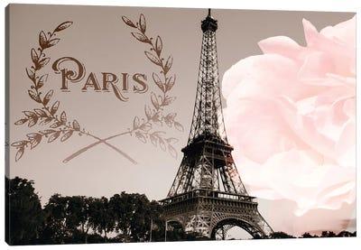 Vintage Paris Canvas Art Print