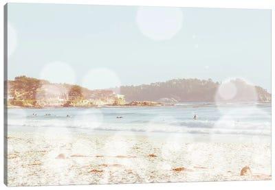 Sparkle Shore Canvas Art Print