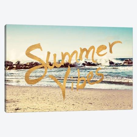 Summer VIbes Canvas Print #ENA65} by Emily Navas Canvas Artwork