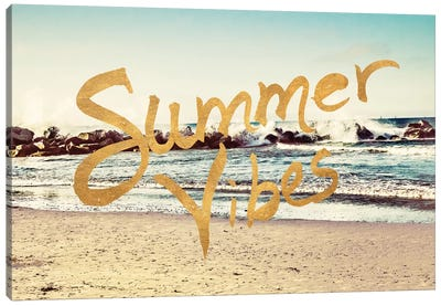 Summer VIbes Canvas Art Print