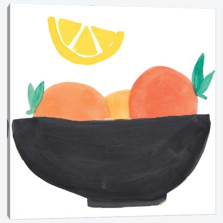Fruit Bowl I Canvas Print #ENA73} by Emily Navas Canvas Wall Art