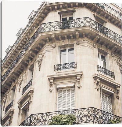 French Balcony I Canvas Art Print