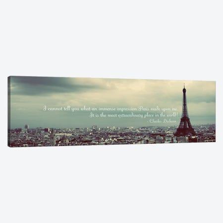 Immense Impression of Paris Canvas Print #ENA85} by Emily Navas Canvas Art