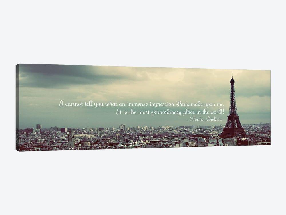 Immense Impression of Paris by Emily Navas 1-piece Canvas Art Print
