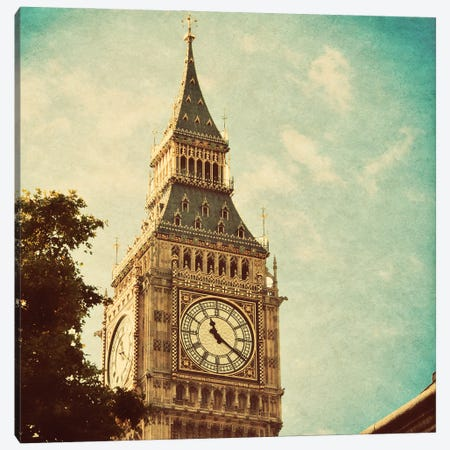 London Sights I Canvas Print #ENA88} by Emily Navas Canvas Print