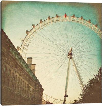 London Sights II Canvas Art Print