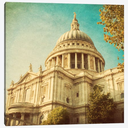 London Sights III Canvas Print #ENA90} by Emily Navas Canvas Art