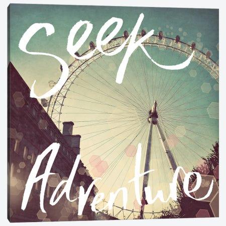 Seek Adventure Canvas Print #ENA92} by Emily Navas Canvas Wall Art