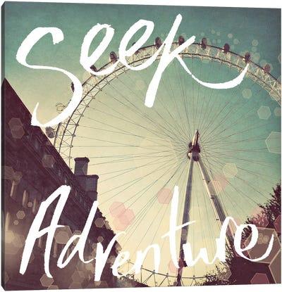 Seek Adventure Canvas Art Print