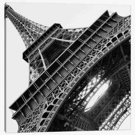 Eiffel Views Square I Canvas Print #ENA9} by Emily Navas Canvas Artwork