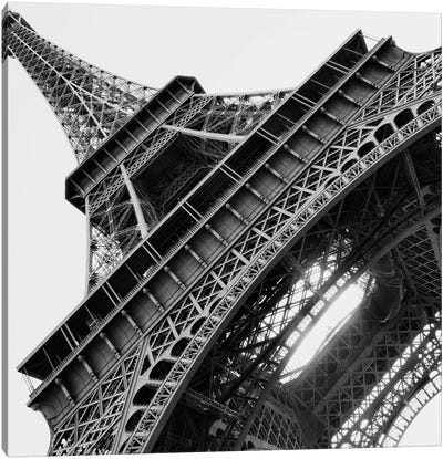 Eiffel Views Square I Canvas Art Print