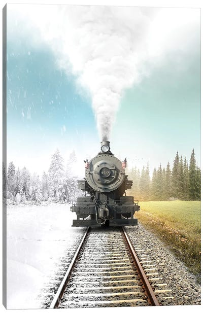 Heres My Station Canvas Art Print