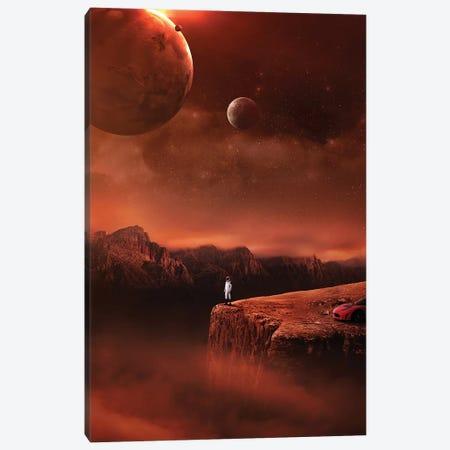 Starman Canvas Print #ENP26} by en.ps Art Print