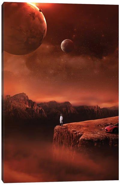Starman Canvas Art Print