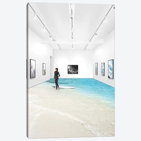 Take 5 Canvas Print #ENP30} by en.ps Canvas Print