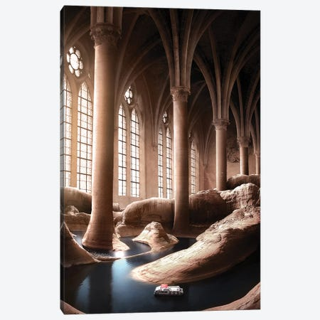 The Eighth Wonder Canvas Print #ENP32} by en.ps Canvas Print