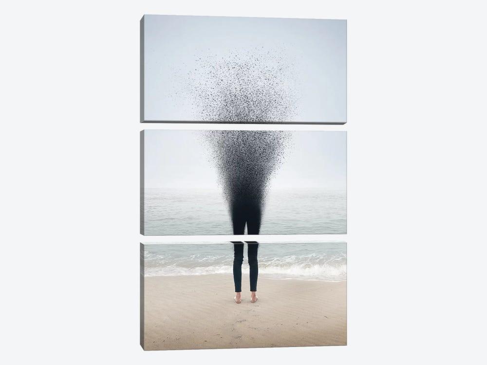 Ceast To Exist by en.ps 3-piece Canvas Artwork